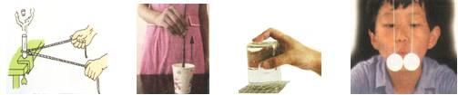 下列都是《科学》课本中的实验图片