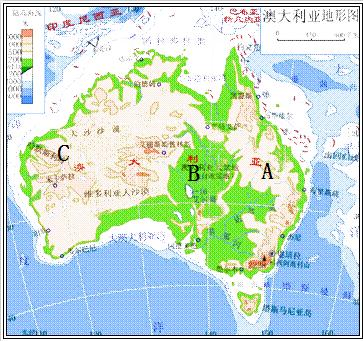 世界区域地理 草原人家 澳大利亚草原——现代化牧场  (1) 主要地形:a图片