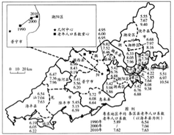 广东老龄人口_广东人口地图