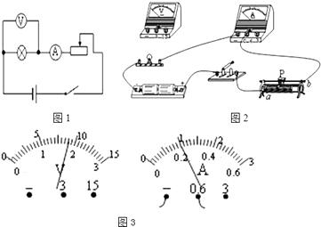 """首页 初中物理  小明同学利用电压表和电流表""""测量小灯泡的电阻值"""""""