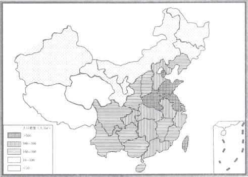 广东省深圳市南山区2017-2018学年八年级上学期地理期末教学质量监测图片