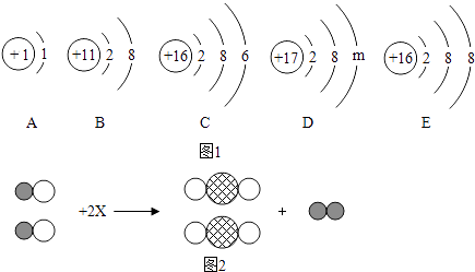 根据如图1粒子结构示意图,回答问题