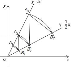 在平面直角坐标系中,若干个半径为1的单位长度,圆心角为60 的扇形组成一条连续的曲线,点P从原点O出发,向右沿这条曲线做上下起伏运动 如图 ,点P在直线上运动的速度为每秒