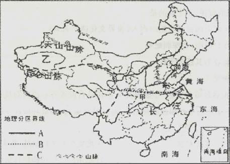 四大人口稀疏地区_读下列四幅图.回答下列问题. 1 图1中的A.B.C.D四地都为世界人