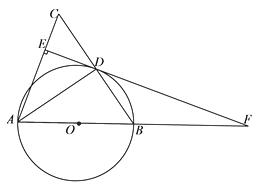 如图abc中ac ab bc_如图,在 ABC中,以AC为直径作⊙O交BC于点D,交AB于点G,且D是BC ...