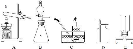 过氧化氢制氧气_实验室制取氧气,提供了下列药品和常用装置,请按要求回答 ...